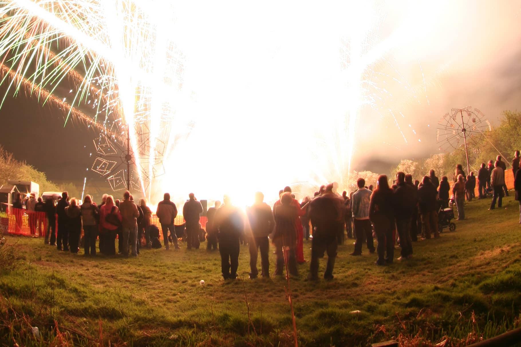 Intense Fireworks