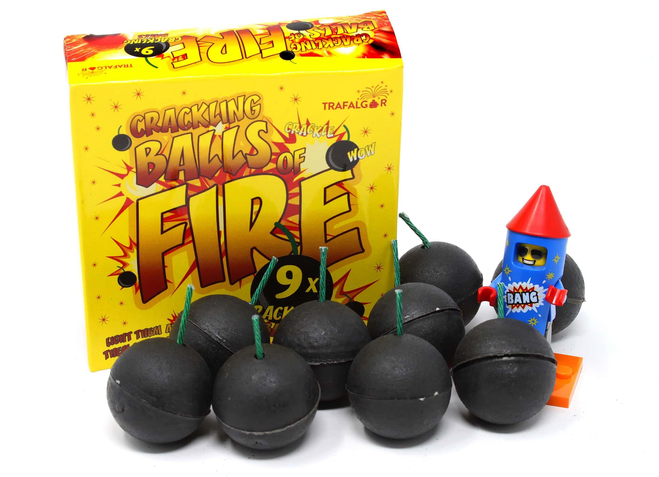 Crackling Balls Of Fire