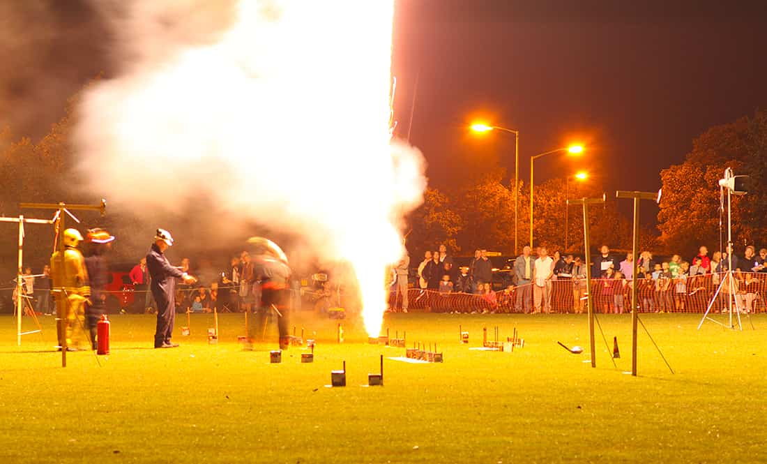 Firework Demo Night