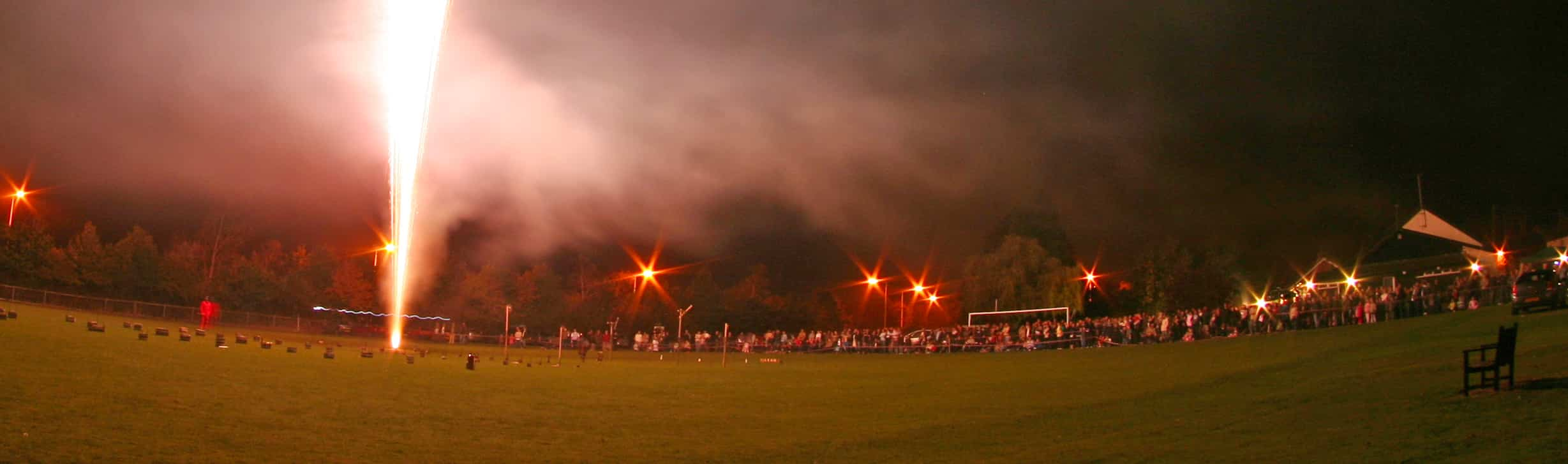 Demo Night Fireworks