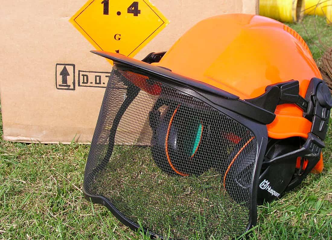 Firework helmet