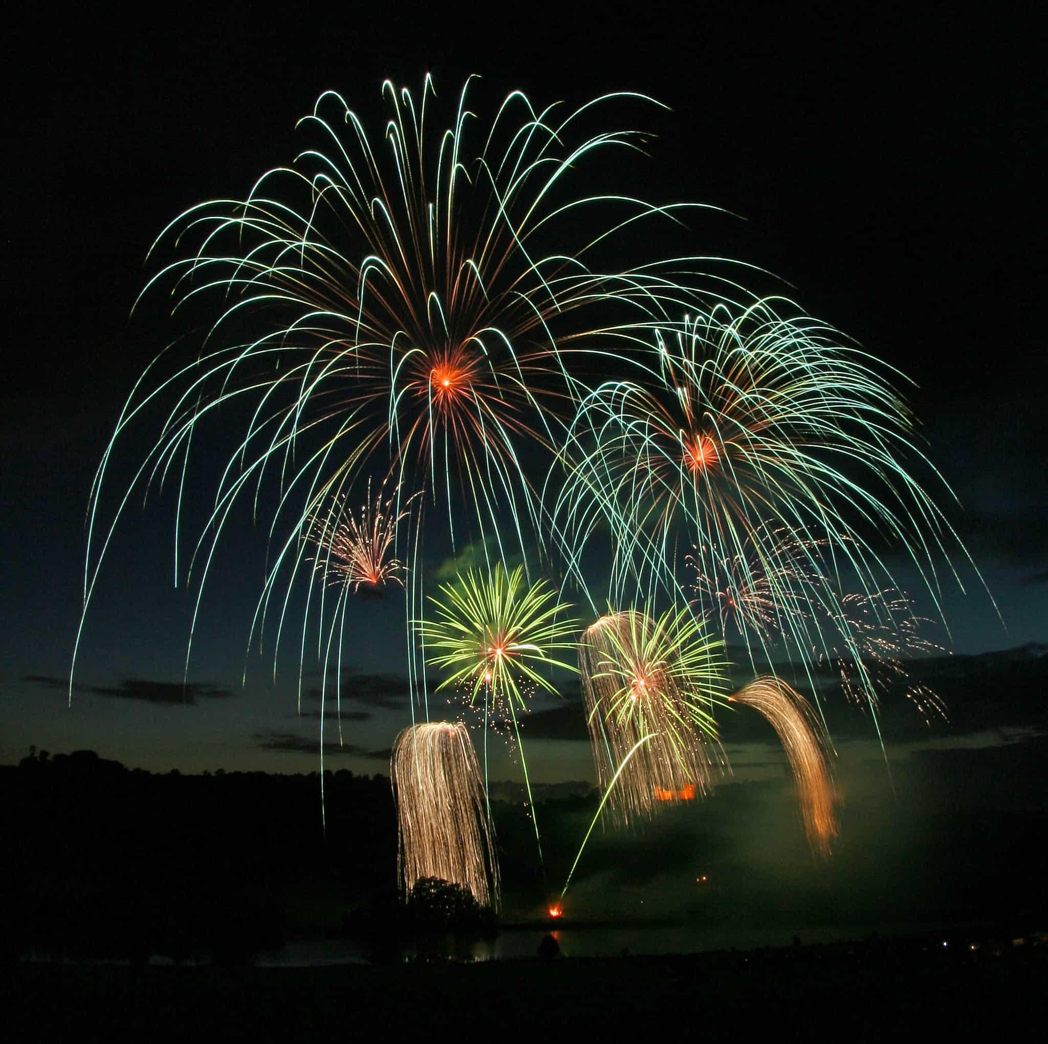 Professional Fireworks Display