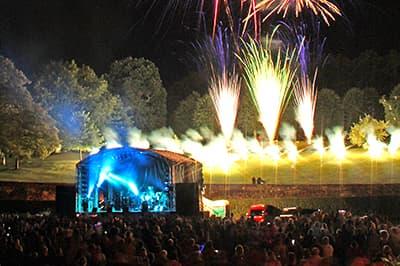 Concert Fireworks Display