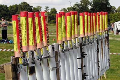 Setting up rockets