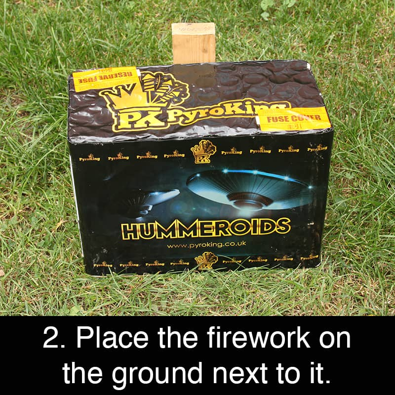 Staking fireworks