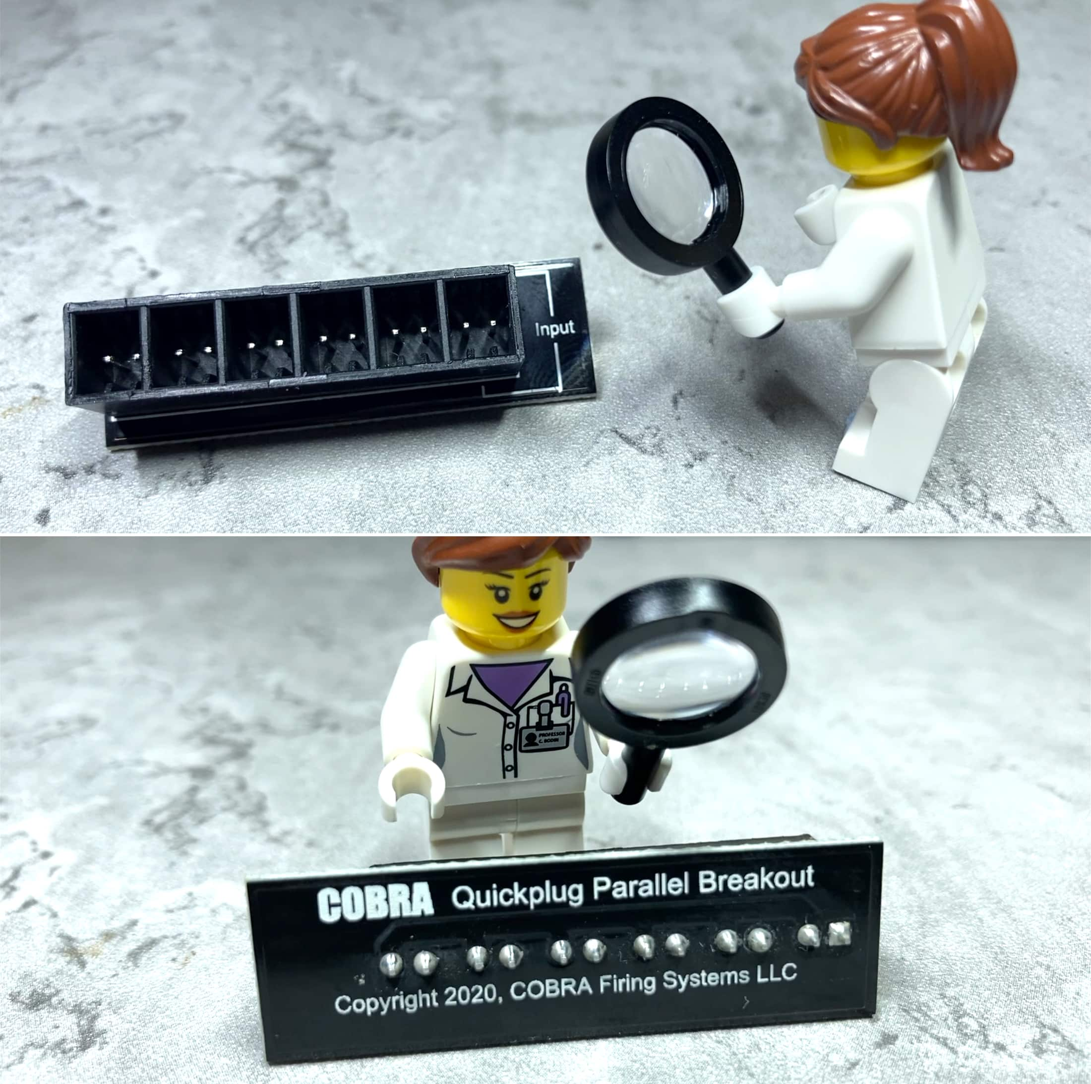 Quickplug Parallel Breakout Board Cobra