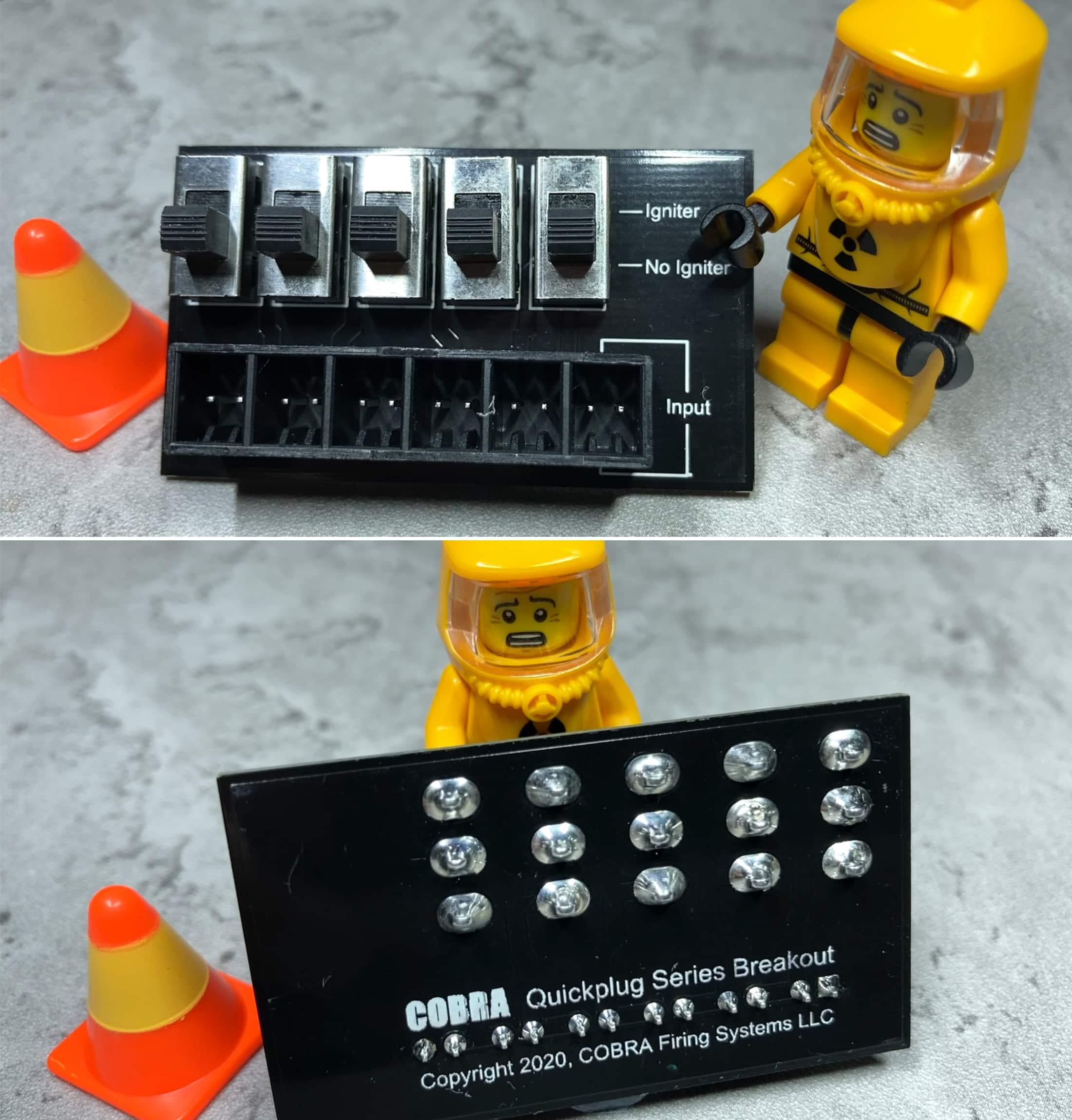 Quickplug series breakout board Cobra