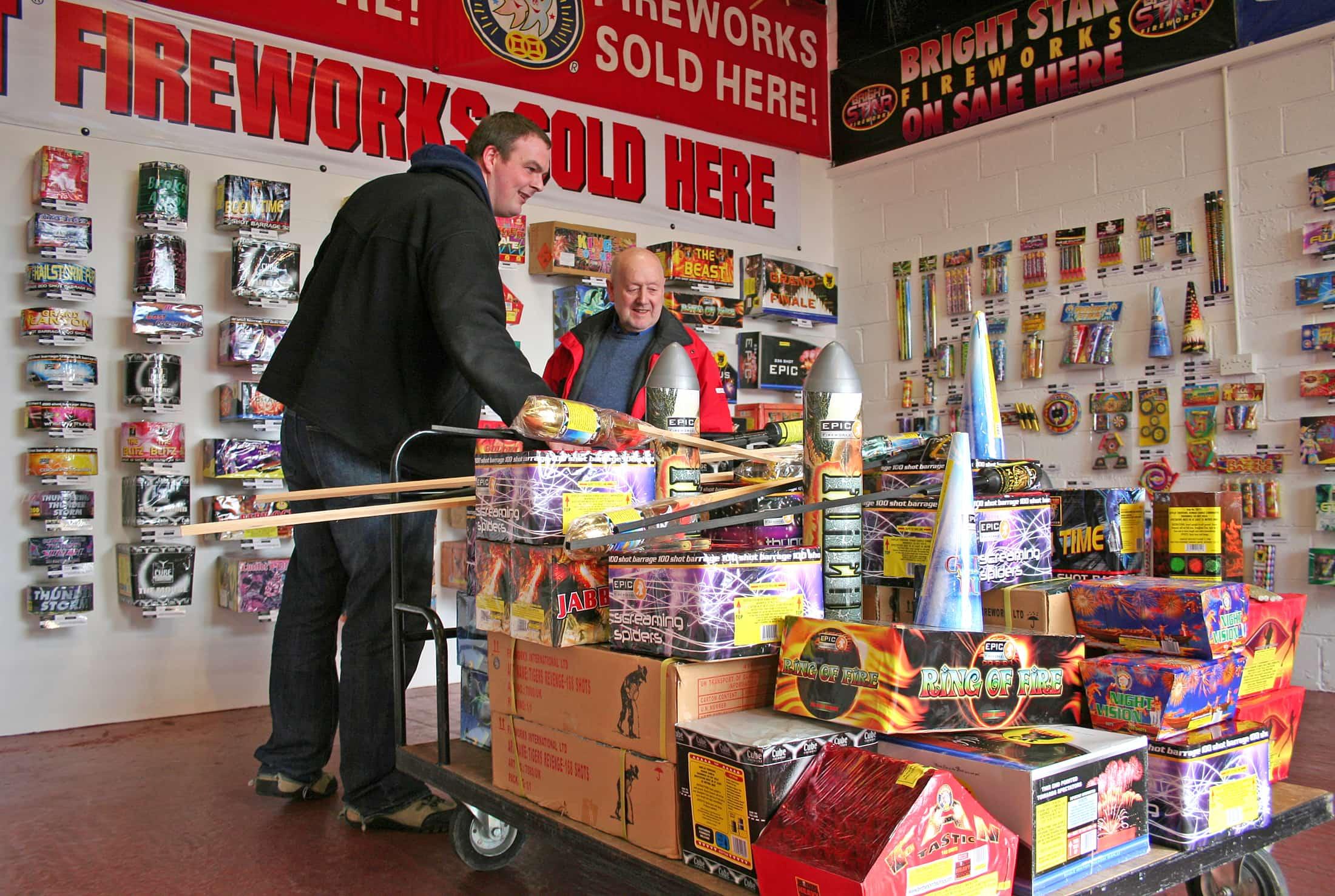 Epic Fireworks Happy Customer