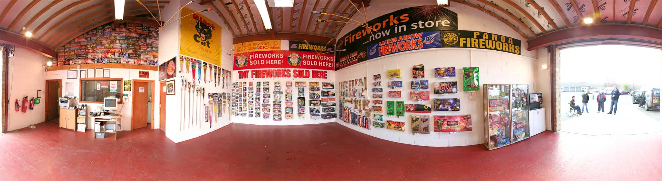 Epic Fireworks Batley Showroom 360 View