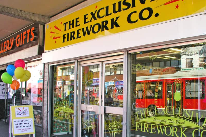 Exclusive Fireworks Hounslow