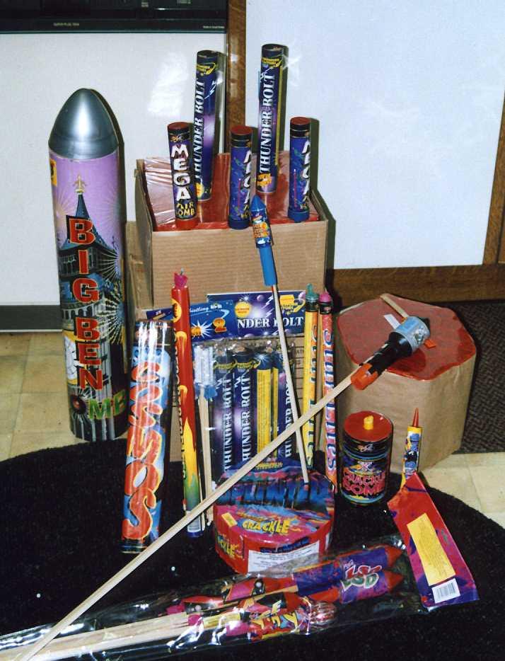 Julian B Millennium Fireworks