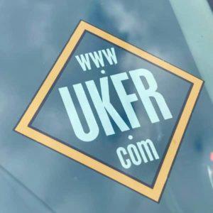 UKFR Car Sticker