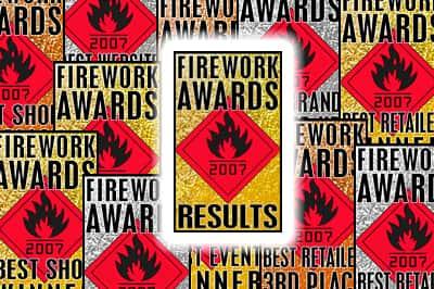 UK Firework Awards Results